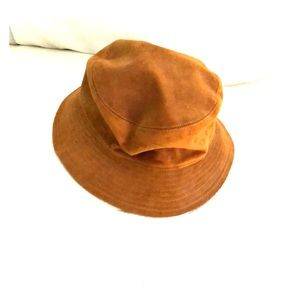 Helen Kaminski suede rain hat